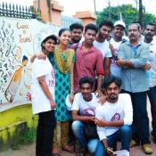 World Animation Day Celebrated by painting in 25 meter canvas, which was done in the wall of Muvattupuzha Town Hall at Nehru Park, Inaugurated by the Municipal Chairperson Smt. Usha Sasidharan on 27th October 2017